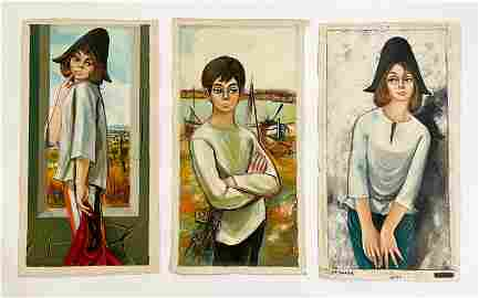 Jean-Pierre Serrier - Portraits (3)