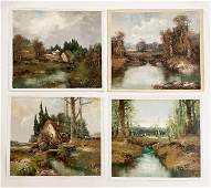 Willi Bauer - Forest Landscapes and Old Mills (4)