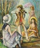 Jacques Lalande - The Violinist