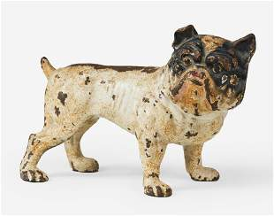 Hubley - Cold Painted Cast Iron Bulldog