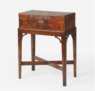 Unknown Cabinetmaker - George III style mahogany lap