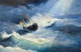 Walter Eres - Rough Sea
