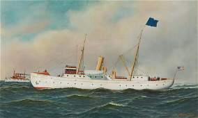 Antonio Jacobsen - Steamship