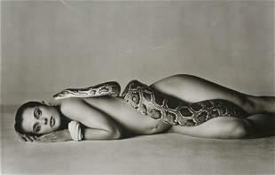 Richard Avedon - Nastassja Kinski and the Serpent