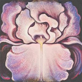 Lowell Nesbitt - Pink Iris