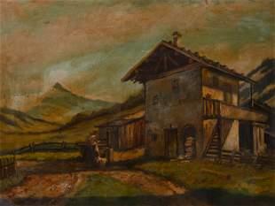 Paul Götz Räcknitz - Untitled (Country house)