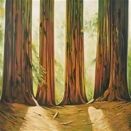Lowell Nesbitt - Sequoia National Park, California