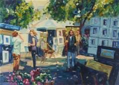 Lisandro Lopez Baylon - St. Tropez Artist Display
