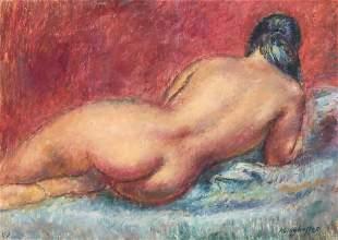 Clara Klinghoffer - Reclining Nude