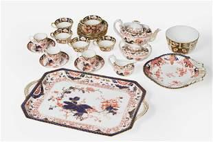 Royal Crown Derby - 23 Piece Imari Porcelain Service