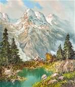 Herbert August Uerpmann - Kaiser Mountains