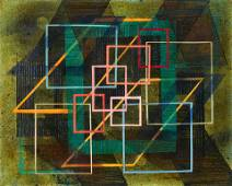 Irene Rice Pereira - Untitled (Squares)