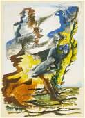 Ossip Zadkine - Two Figures
