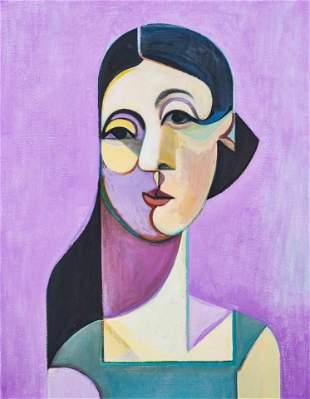 Leonard Alberts - Portrait of Olivia