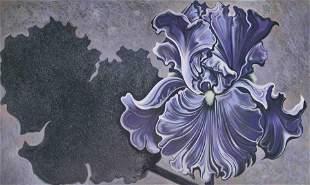 Lowell Nesbitt - Shadow Iris