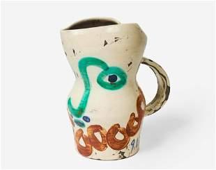 Pablo Picasso - Visage Aux Cercles (Face with Circles)