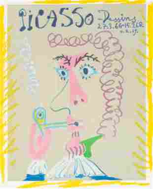 Pablo Picasso - Dessins 27.3.66-15.3.68