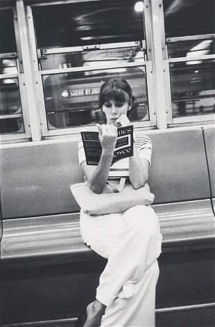Louis Faurer - New York City, 1973 (Woman on Train)