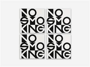 George Maciunas - No Smoking, Group of 4