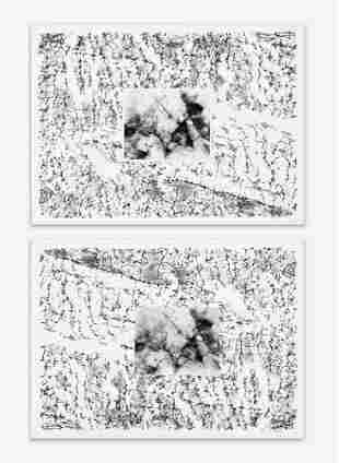 Alan Sonfist - Pair of Artist Proofs for 'Earth