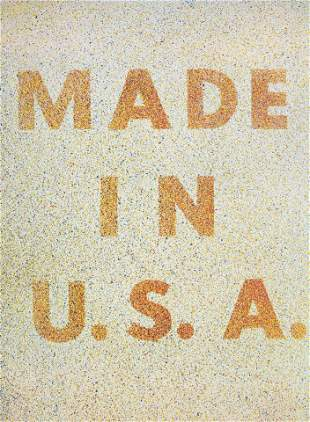 Ed Ruscha - America: Her Best Product (Made in USA)