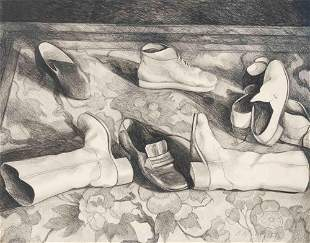 Lowell Nesbitt - Shoes and Boots
