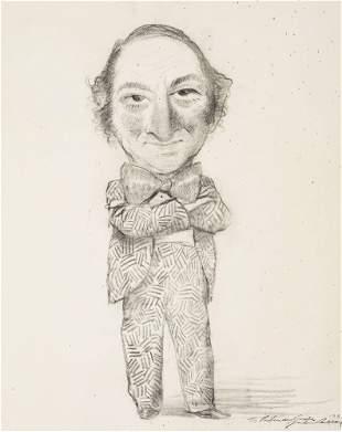 Unknown Artist - Untitled (Portrait of Jasper Johns)