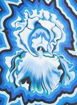 Lowell Nesbitt - Electric Iris