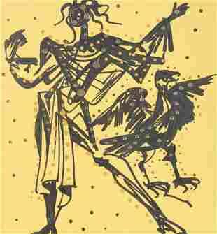 Salvador Dali - Knight of the Sparrow Hawk