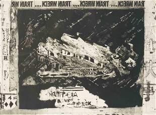Malcolm Morley - Train Wreck