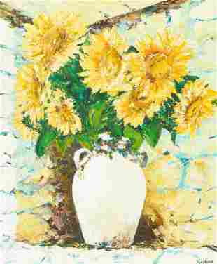 William Foreman - Sunflowers