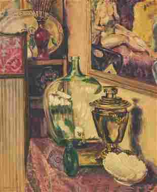 Albert Canter - Still Life with Urn