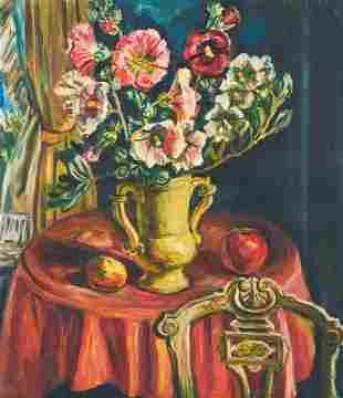 Unknown Artist - Still Life with Green Vase