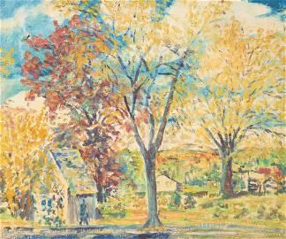 Albert Canter - Untitled (Autumn Scene)