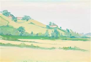 Unknown Artist - Untitled (Green Landscape)