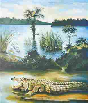 Lowell Nesbitt - Glade National Park - Florida