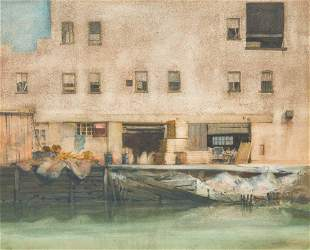 Bruce North - House on the Gowanus Canal