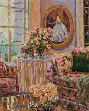 H. Gordon Wang - Roses by the Window