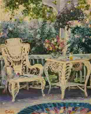 H. Gordon Wang - Porch Scene