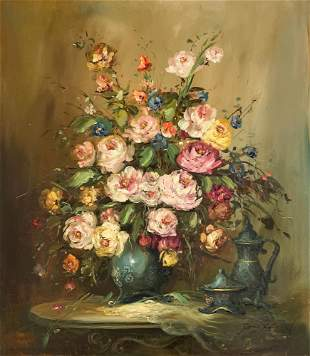 Janez Kenzer - Floral Still Life