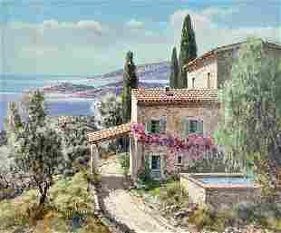 Lucien Potronat - Cote d'Azur en d'Eze