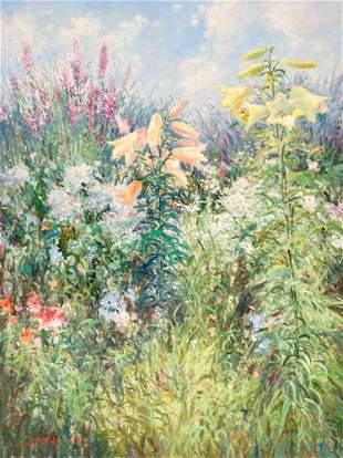 Sang M. Lee - Wild Flower Field