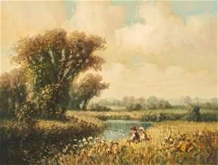 Laszlo Ritter - Children Fishing