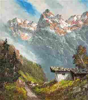 Herbert August Uerpmann - Kaiser Wilder Alpine