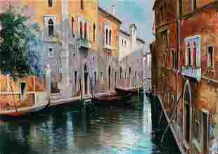 Stan Pitri - Serene Canal in Venice