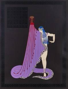Romain de Tirtoff 'Erté' - Slave of Salome