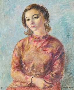 Clara Klinghoffer - Portrait of Barbara Ashe