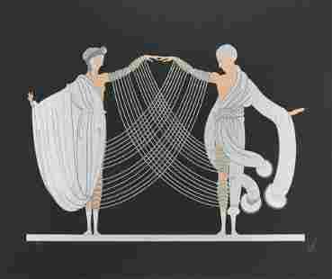 Romain de Tirtoff 'Erté' - Marriage Dance (Love