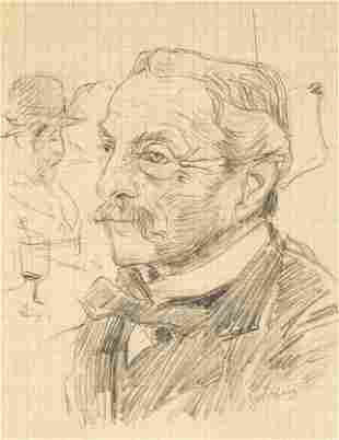 Giovanni Boldini - Portrait of a Gentleman in a Bar