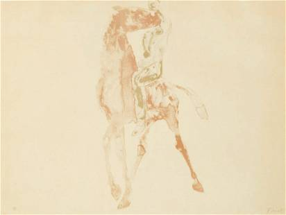 Dame Elisabeth Frink, RA - Horse and Rider IV